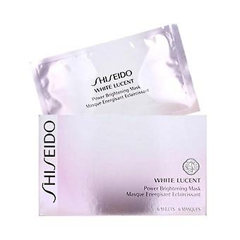 Shiseido White Lucent Power Brightening Mask 6 feuilles