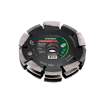 Metabo 125mmx28.5x22mm disco de diamante para rozadora MFE40