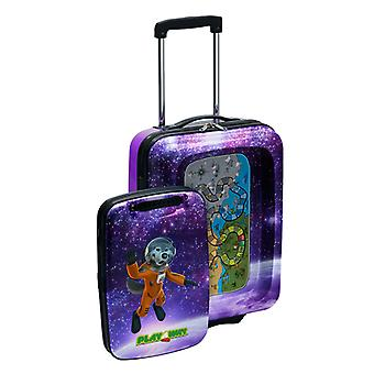 Alexsee the Wolf PlayAway Suitcase with PlayPod