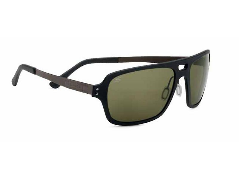 Serengeti Nunzio Sunglasses (Polar PhD 555NM Lens Satin Black Frame)