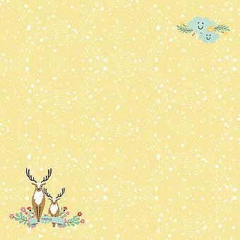 Scrapberry's Forest Friends Single-Sided Cardstock 12
