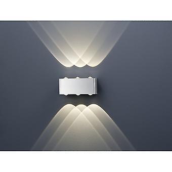 Trio Lighting Aberdeen Modern Nickel Matt Metal Wall Lamp