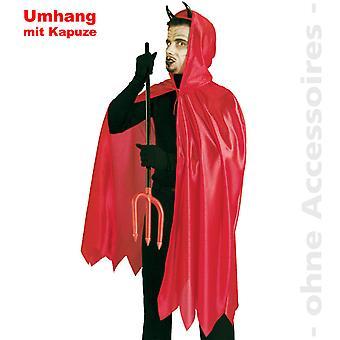 Мужской костюм дьявола Дьявол мыса Mr дьявол сатана Хеллоуин костюм