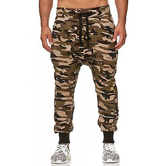 Tazzio fashion men's sweatpants in the harem style camouflage