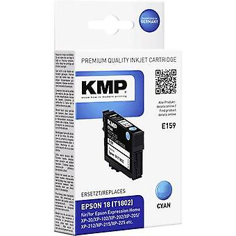 KMP Ink replaced Epson T1802, 18 Compatible Cyan E159 1622,4803