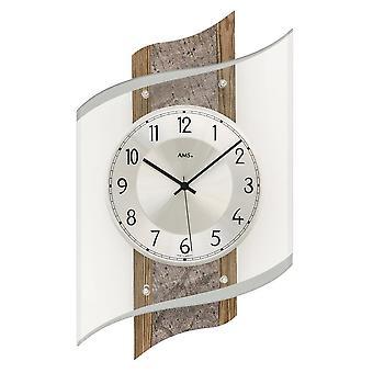 Wall clock radio AMS - 5518