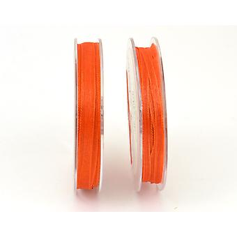 3mm Orange Organza Craft Ribbon - 10m | Ribbons & Bows for Crafts