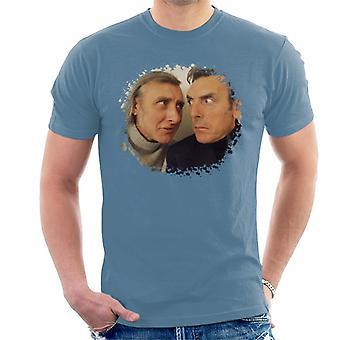 T-shirt TV volte Spike Milligan ed Eric Sykes maschile
