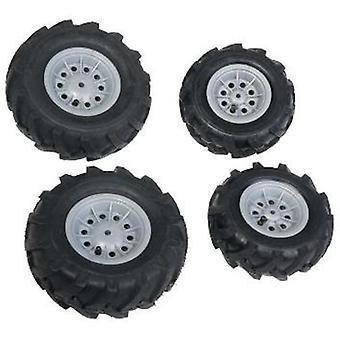 Rolly Toys 409846 4 däck för traktorer och RollyJunior RollyFarmtrac Silver