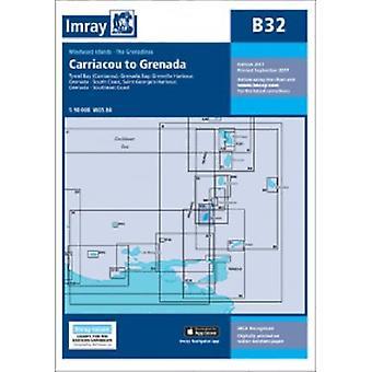 Imray Chart B32 - Carriacou to Grenada by Imray - 9781846237058 Book