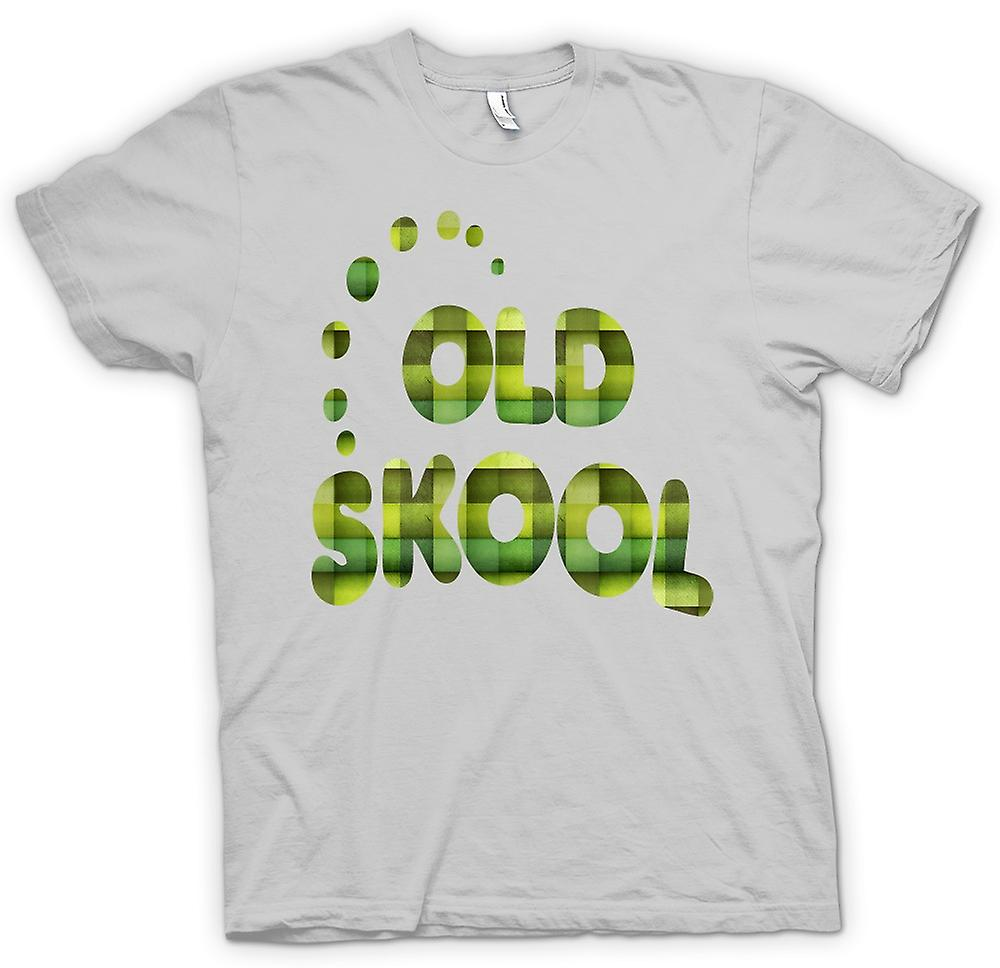Mens T-shirt-Old Skool Retro