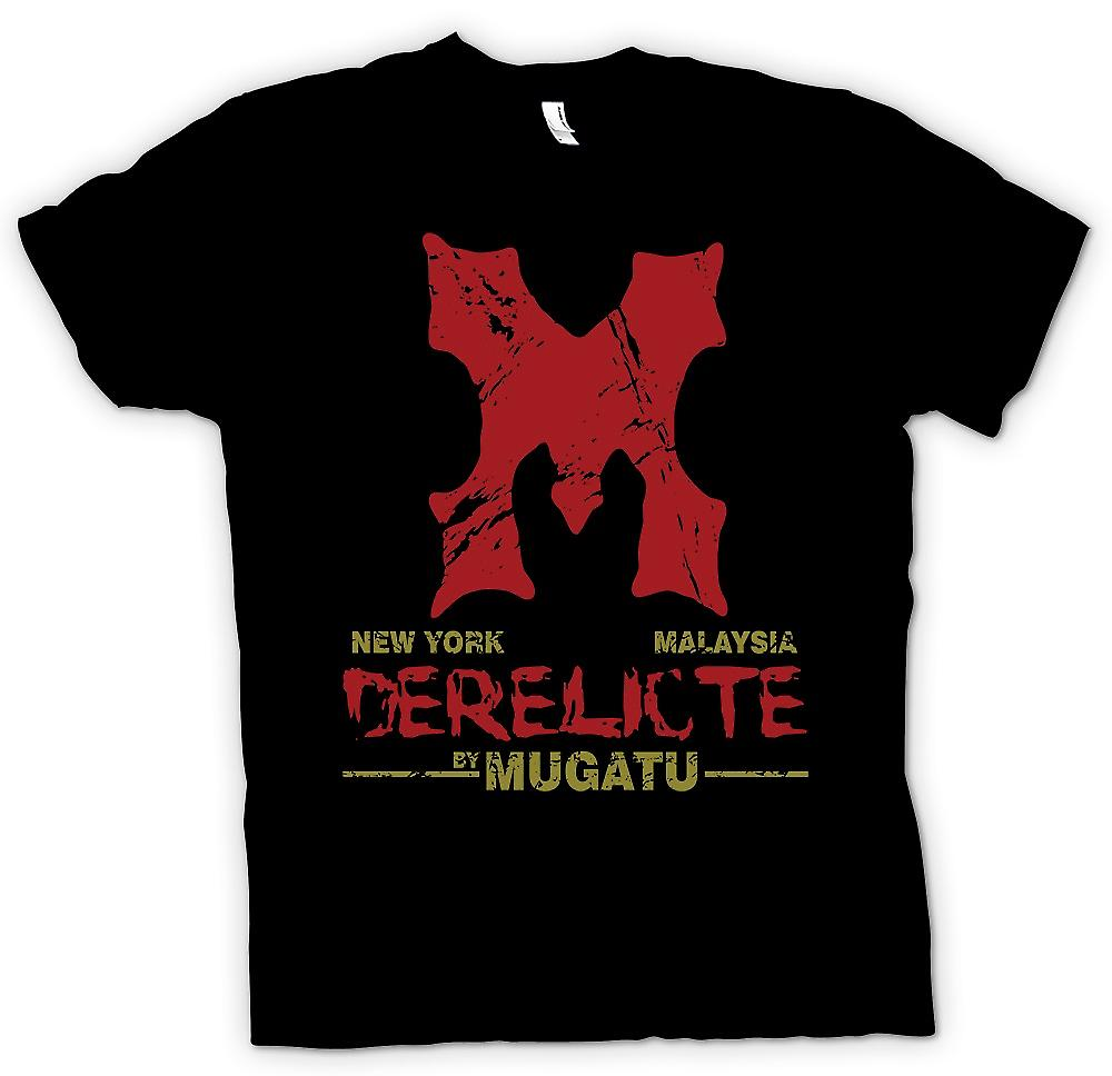 Womens T-shirt - Derelicte By Mugatu - Zoolander Inspired