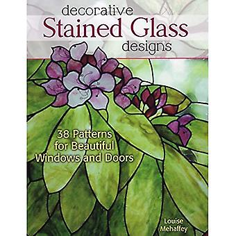 Decoratief glas Designs: 38 patronen voor mooie ramen en deuren