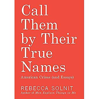 Call Them by Their True Names: American Crises (and � Essays)