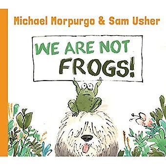 Nous sommes pas des grenouilles (photo écureuil)