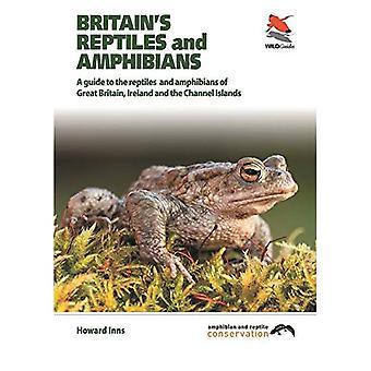Répteis e anfíbios da Grã-Bretanha: um guia de campo, cobrindo a Grã-Bretanha, Irlanda e ilhas do canal
