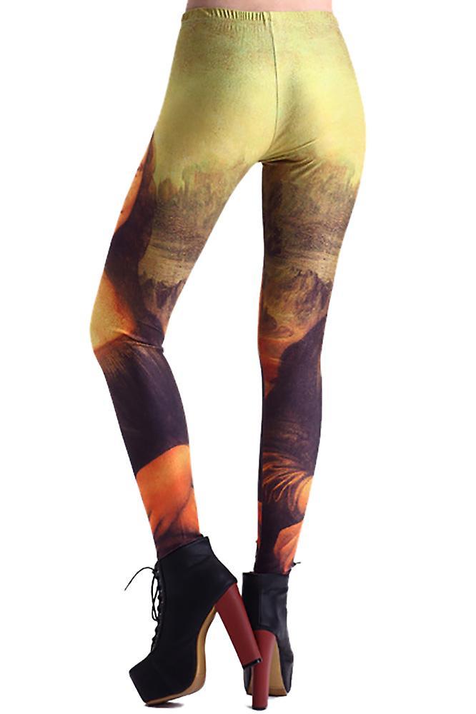 Waooh - Legging imprimé Mona Lisa Tauc