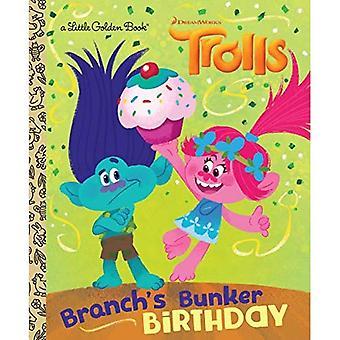 Filialens Bunker födelsedag (DreamWorks troll) (liten gyllene bok)