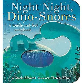 Night Night, Dino-Snores [Board book]