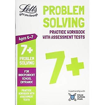 Le King commun entrée succès - le King 7 + Problem Solving - pratique classeur avec Tests d'évaluation: pour entrée Independent School (Common Letts entrée succès)