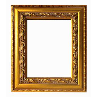 13x15 cm or 5 x 6 inch photo frame in gold