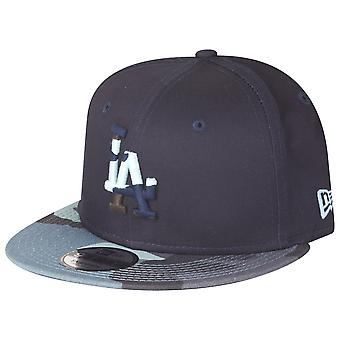 Granatowy Moro nowa era 9Fifty Snapback Cap - Los Angeles Dodgers