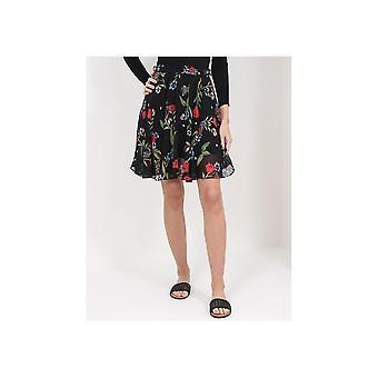 Guess Grace Floral & Dot Skirt