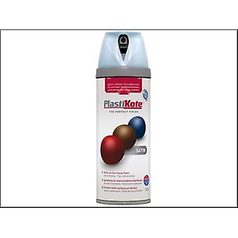 Plasti-Kote Twist & Spray Satin Baby Blue 400ml