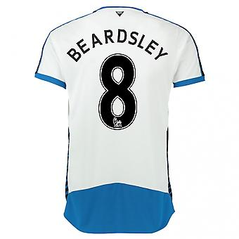2015-16 Newcastle hem skjorta (Beardsley 8)