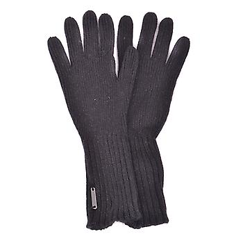 Burberry Black Acrylic Gloves