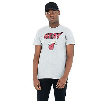 New Era Nba Miami Heat Team Logo T-shirt