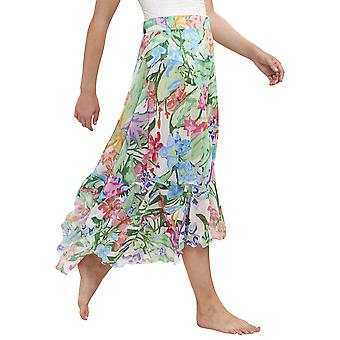 Feraud 3195116-16363 Women's Beach Flowers Multicolour Floral Beach Skirt