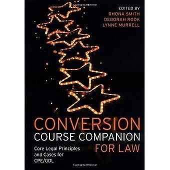 Konverterings kurs kamrat för lag: grundläggande juridiska principer och ärenden för CPE/GDL