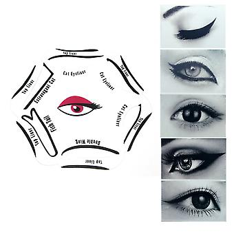 Revitale Eyeliner Stencil 6in1 - Quick Makeup Guide - Smokey, Cat, Eye Liner