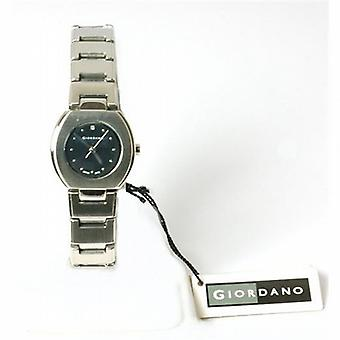 Giordano Silver Tone Bracelet Strap Ladies Dress Watch 2073-1