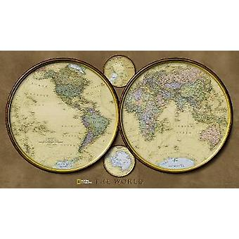 The World by National Geographic Maps - 9781597750714 Book
