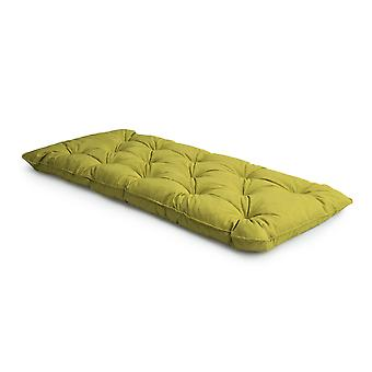Loft 25� Linen Fabric Foam Crumb Tufted Single Futon Mattress - Lime