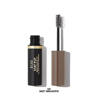 Milani Stay Put Brow Shaping Gel-02 Soft Brunette