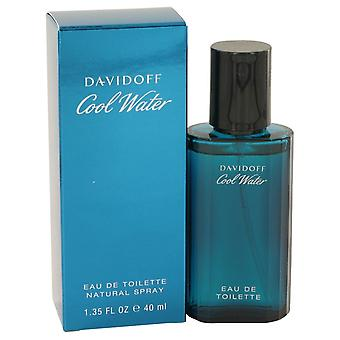 COOL WATER by Davidoff Eau De Toilette Spray 1.35 oz / 40 ml (Men)