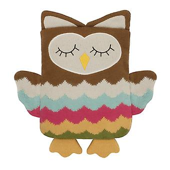 Aroma Home Knitted Huggable Hottie Body Warmer: Owl