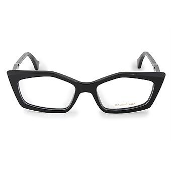 Balenciaga BA 5043 001 52 Geometric Cat Eye Eyeglasses Frames