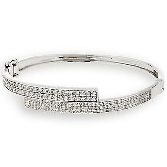 Bangle Bracelet Micro Pave Zirconium