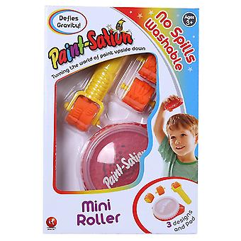 Mini roller de tecnología antigravedad de pintura-sación (rojo)