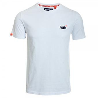 Superdry Orange Label Vintage Embroidery T-shirt Optic White