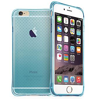 Yousave Accessories iPhone 6 Plus and 6s Plus Air Cushion Gel Blue Case