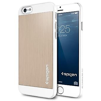 Spigen iPhone 6 and 6s (4.7) Case Aluminum Fit Champagne Gold