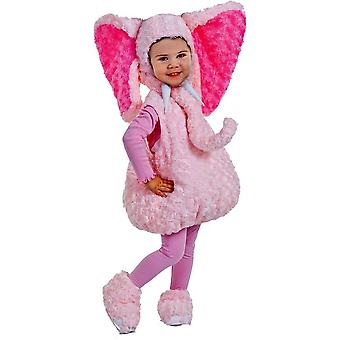 Precious Elephant Toddler Costume