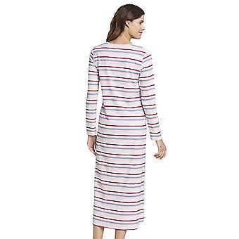 Rosch 1193651-11874 Women's Smart Casual Multicoloured Striped Cotton Nightdress