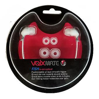 VOIXMATE SHA Earbud, 3.5 mm universele stereo headset met dia. 11mm NdFeB drivers
