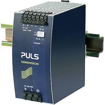 PULS DIMENSION QS10.121 Rail mounted PSU (DIN) 12 Vdc 15 A 180 W 1 x